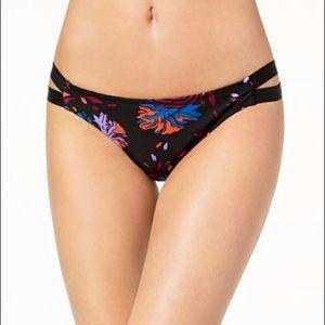 Volcom Printed Strappy Hipster Bikini  (a01)